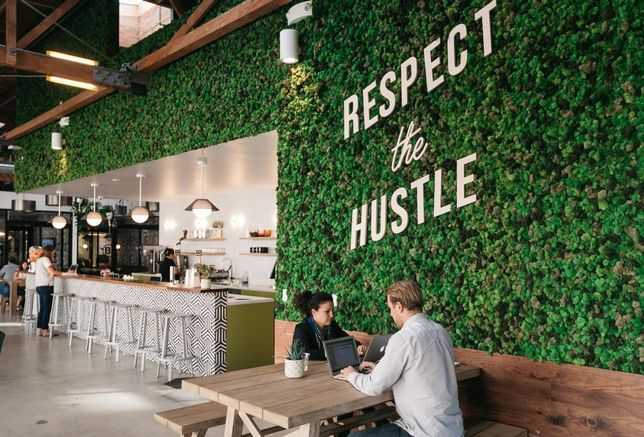 As Market Wobbles, Rivals Take Aim At 'Magic Money' WeWork