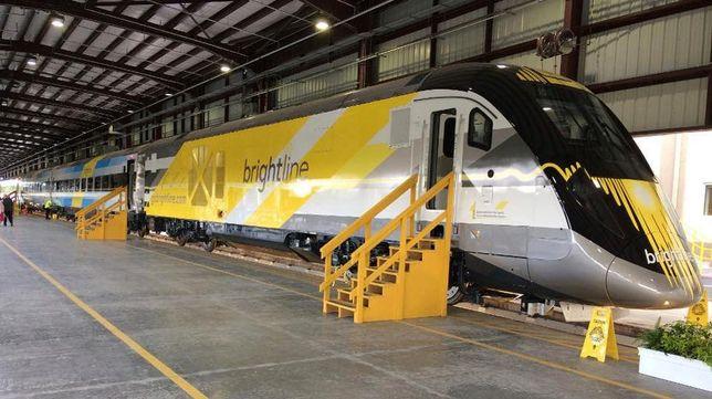 Brightline train service in Florida