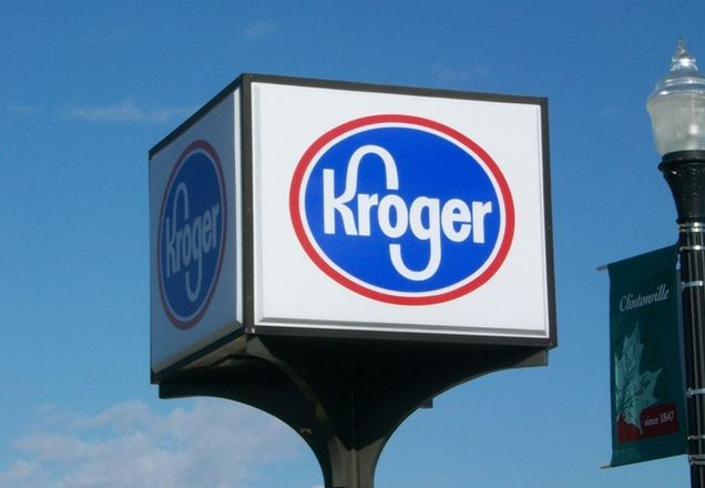 Kroger Co. sign.