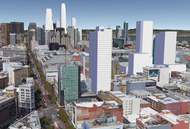 Build Inc. Proposes New Residential Tower In Mid-Market