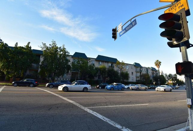 Lion Real Estate acquired three multifamily apartments including this 105-unit apartment at 4355 Sepulveda Blvd. in Sherman Oaks.