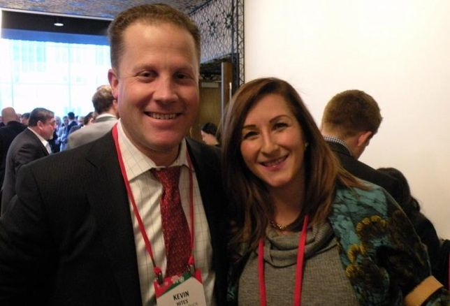John Buck Co. Chief Investment Officer Kevin Hites and Fifield Co. Senior Vice President Erin Spears