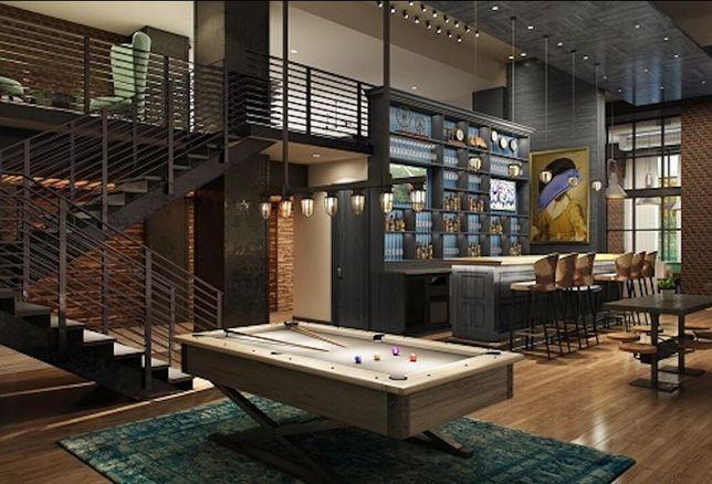 Rendering of the Case Building interior