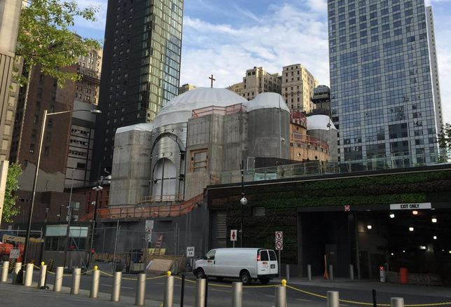 Financial Scandal, Missed Payments Stop Construction At Greek Church Near WTC