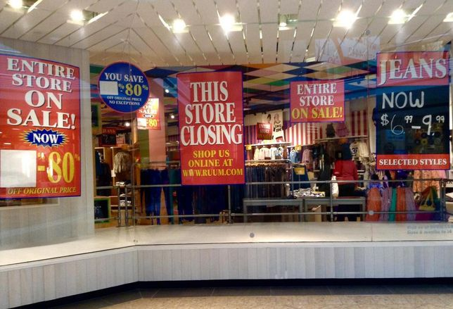 12 Retailers At Risk Of Going Bankrupt Soon
