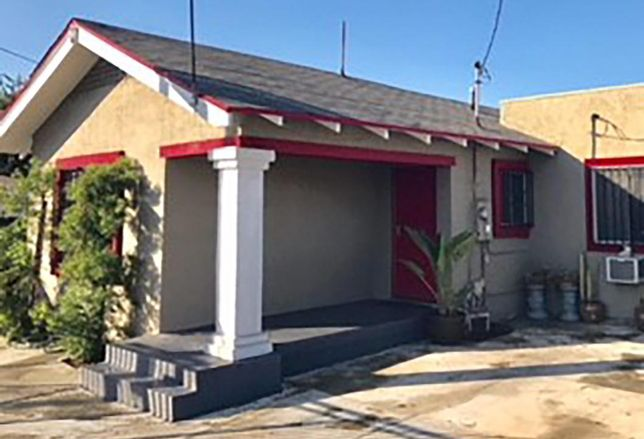 Hubilu Venture Corp. is acquiring this student housing property at 1109 Exposition Blvd. in Los Angeles. The four bedroom, two bathroom house is one block from USC.