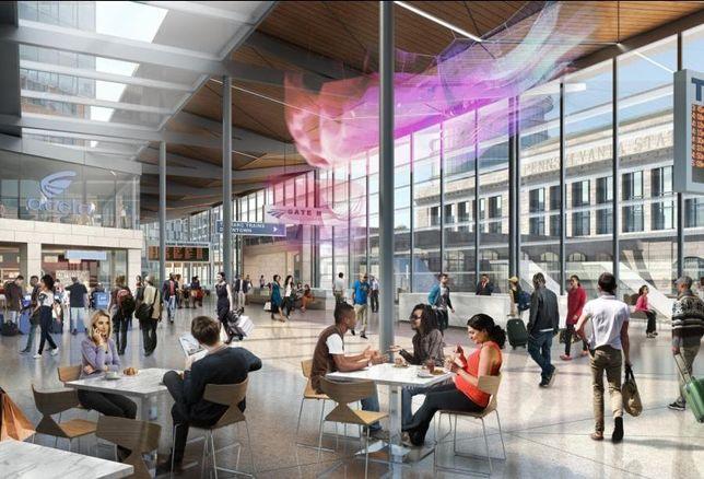 Amtrak Picks Group Of Developers For Baltimore Penn Station Redevelopment Plan