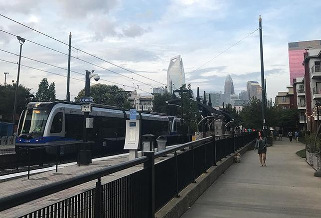 Charlotte's LYNX Blue Line debuted 10 years ago this month.