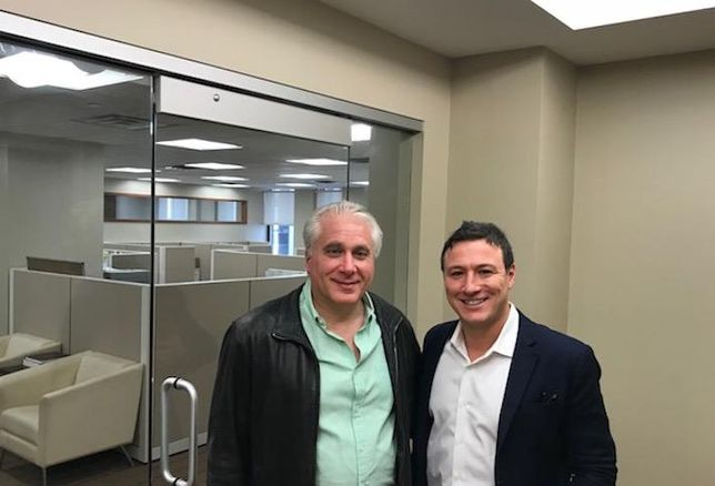 Capricorn Asset Management partners Andrew Schulman and Jason Richter in their Manhattan office