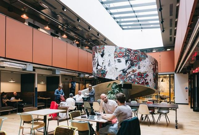 WeWork Old Street Commons London
