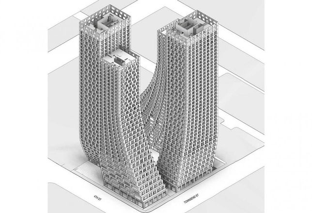 Tishman Speyer Proposes Large Residential Towers In Central SoMa