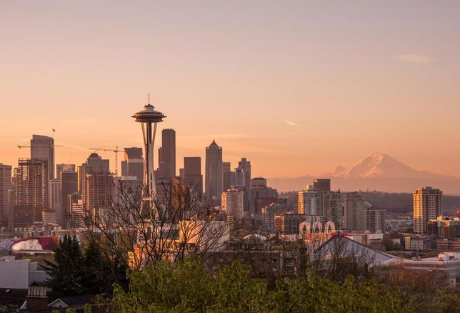 Seattle skyline during the day