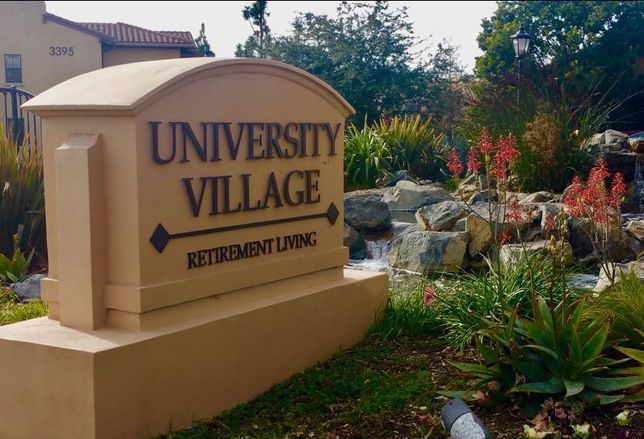 University Village in Thousand Oaks, CA. is one of about four dozen University Based Retirement Communities (UBRCs) nationwide. The retirement community has a partnership with Cal Lutheran University.