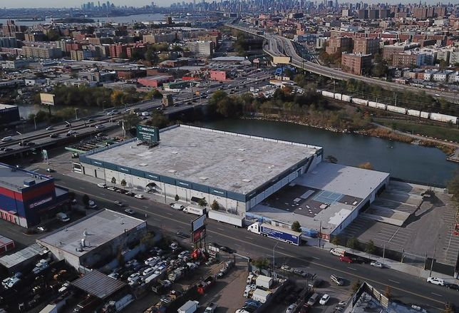 Prologis' multistory warehouse facility in the Bronx
