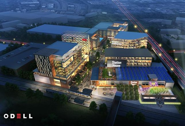The Station House, Flywheel Group's latest mixed-use project, will feature anchor tenant Charlotte Art League.