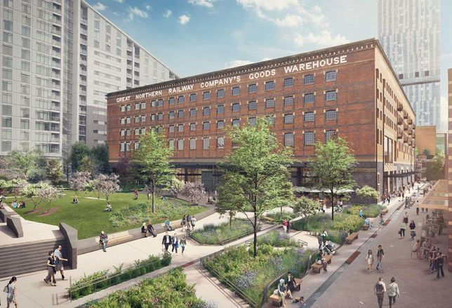 Trilogy's plans for Manchester's Great Northern Goods Warehouse January 2018