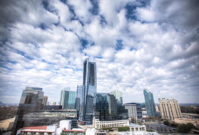 Buckhead skyline in Atlanta, Georgia