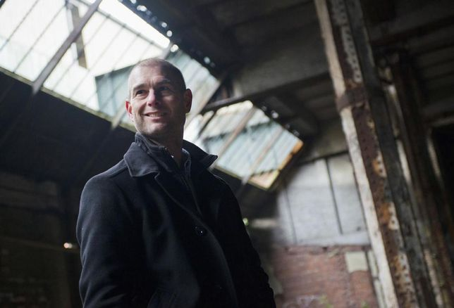 James Heather, development director U+I at Mayfield station site, Manchester Piccadilly
