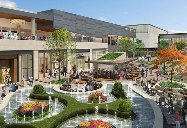 Redevelopment At Hillsdale Shopping Center Nears Completion