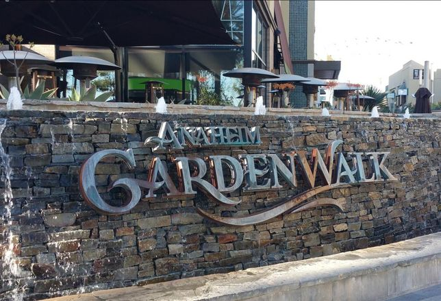 The Anaheim GardenWalk is up for sale.