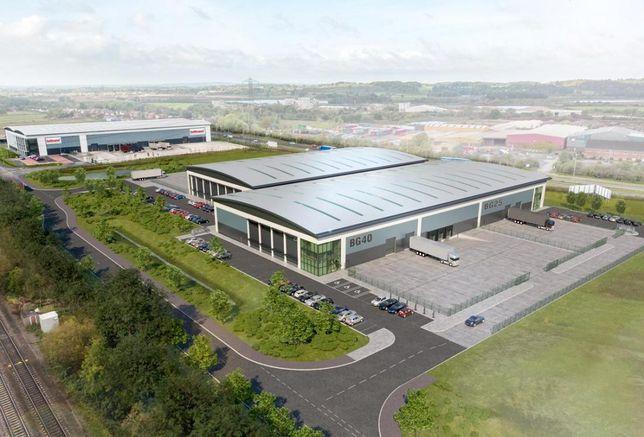 Burton Gateway, developed by St Modwen, Midland sheds warehousing logistics mid-box