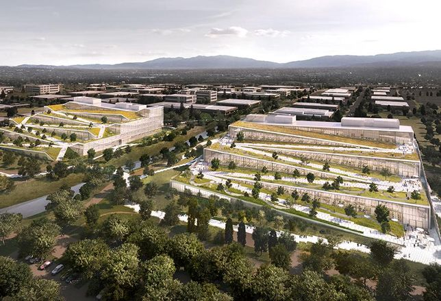 Google's Expanding Silicon Valley Footprint To Rival Apple, Facebook