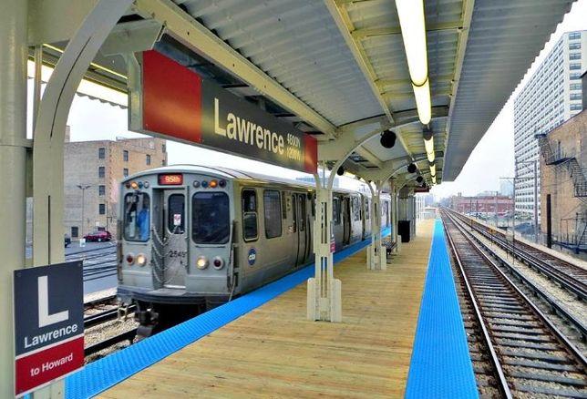 Lawrence Avenue 'L' Station