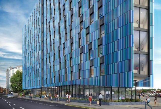 Harrison Street Real Estate's £40M Birmingham development, Bath Row, Jan 2018
