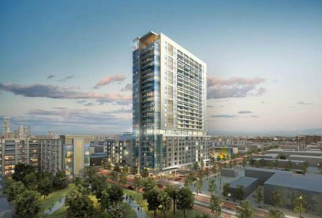 Caydon's 2850 High-Rise Rendering