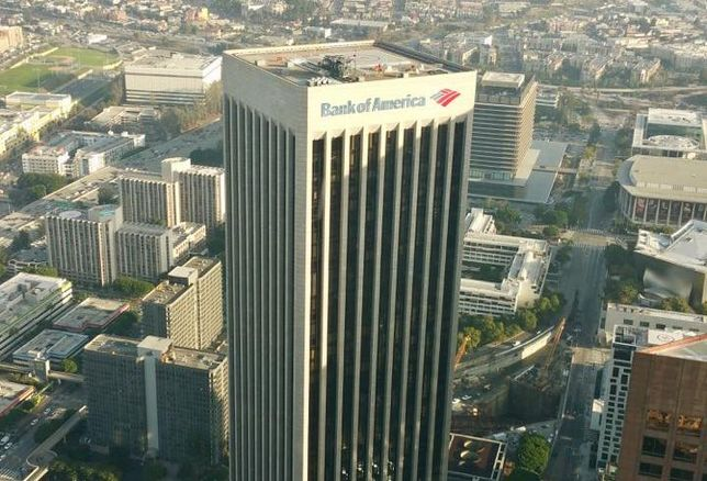 Brookfield's Bank of America Plaza in downtown Los Angeles