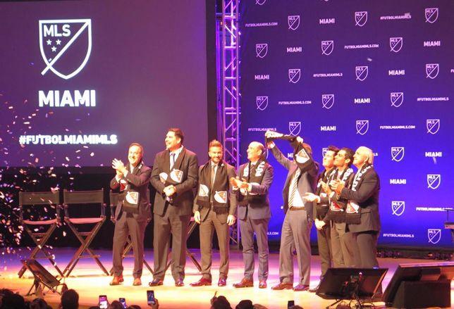 david Beckham announces Miami team january 2018