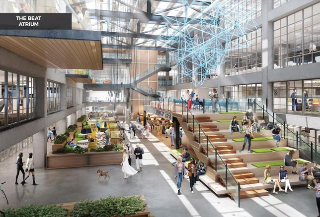 A Different Beat Will Grace The Former Boston Globe HQ
