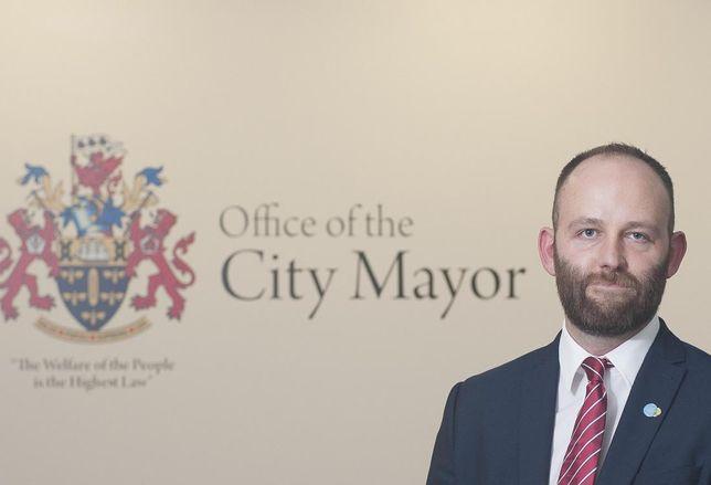 Salford City Mayor Paul Dennett