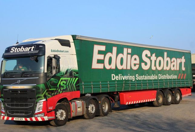 Eddie Stobart HGV distribution freight logistics lorry truck articulated