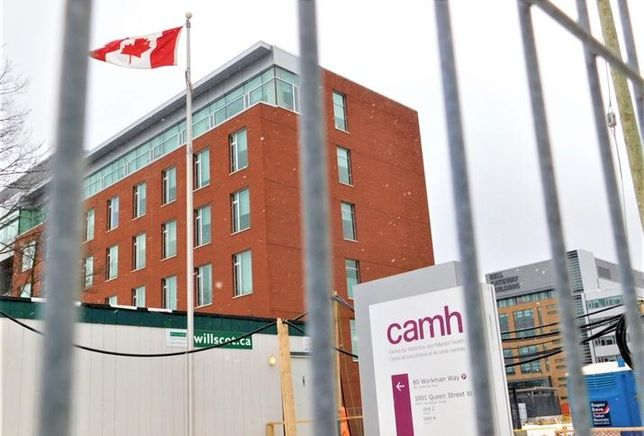 Past Carillion Toronto projects included CAMH's Phase 1B expansion, completed in 2012.