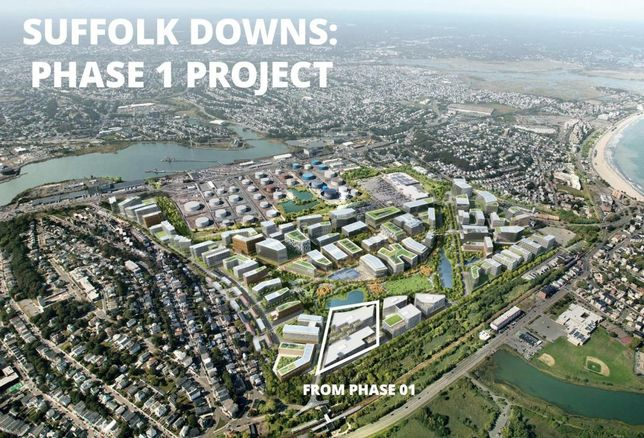 Suffolk Downs Will Be A 16M SF Union Job