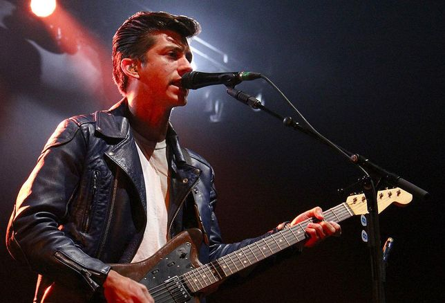 Alex Turner lead singer Arctic Monkeys