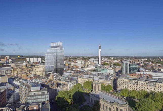 Birmingham skyline Feb 2018
