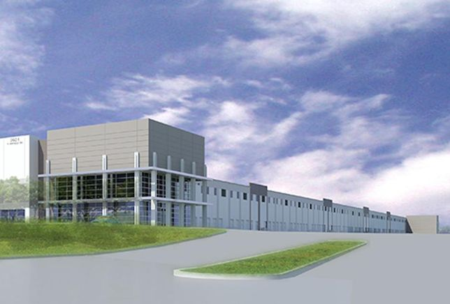 DFW Commerce Center rendering