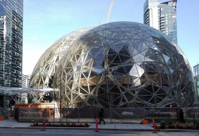 Amazon Biosphere in Seattle