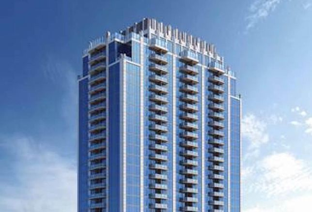 Rendering of SkyHouse at Frisco Station