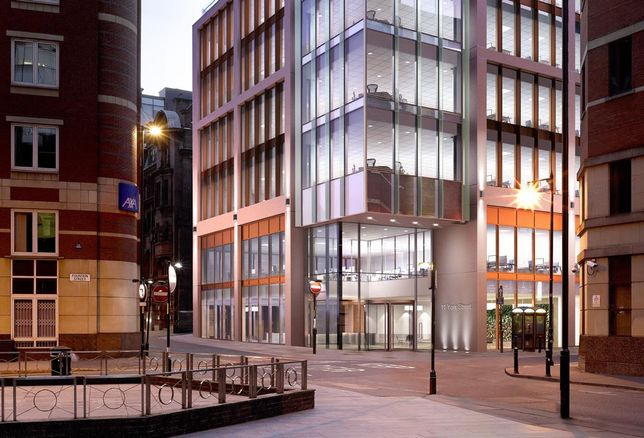 11 York Street, Manchester - previously Oddfellows House - Keir forward funded by Aviva Investors, Feb 2018