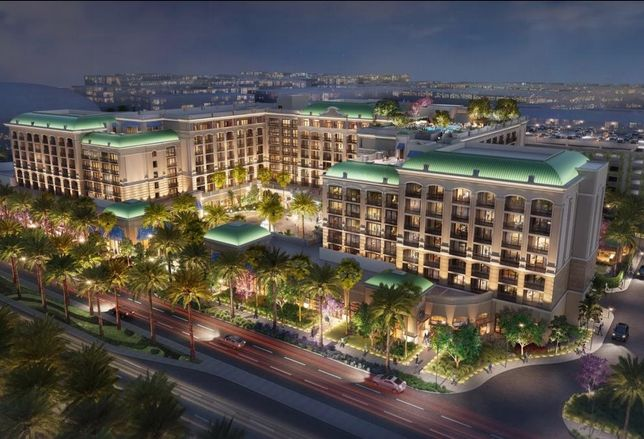A rendering of Wincome Group's Westin Anaheim Resort in Anaheim