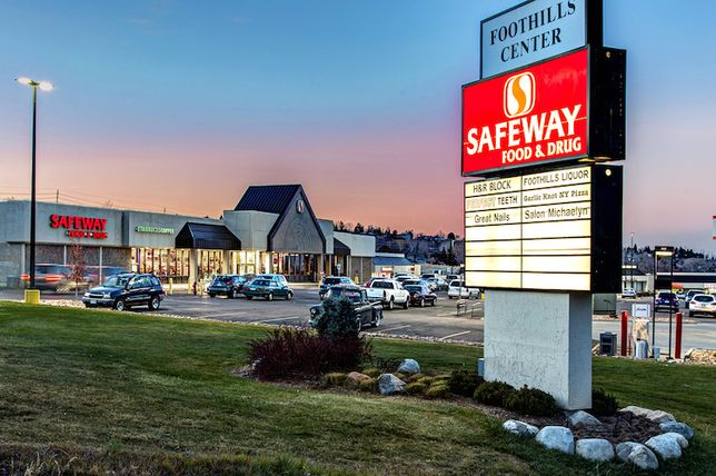 The Safeway-anchored shopping center is located on 8.33 acres at 13019 W. Alameda Parkway.
