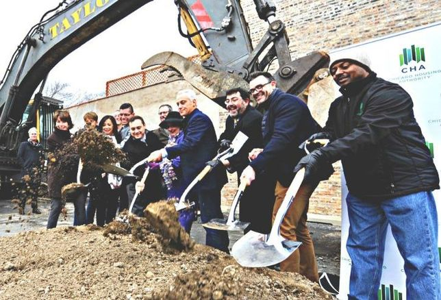 Chicago mixed-use real estate groundbreaking