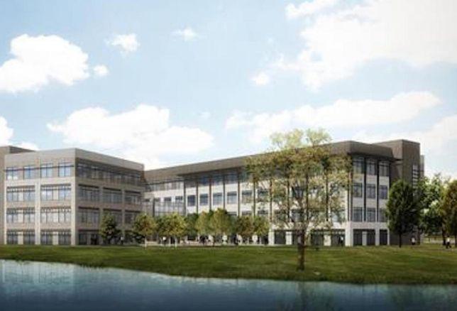 Mercedes-Benz Financial Services building rendering