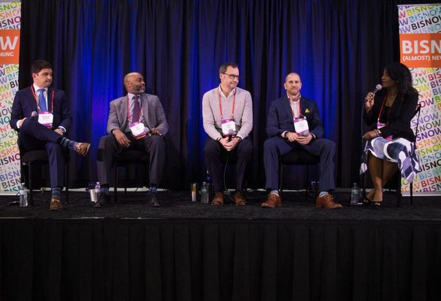 Eastdil Secured Director Jonathan Napper, J.P. Morgan Asset Management Executive Director Dale Todd, Quadrant Investment Properties founder Chad Cook, SPACES Vice President-North Texas Josh McLeod and Uptown Dallas Inc. Interim President and Executive Director Noelle LeVeaux