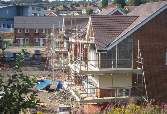 house housing construction development housebuilding uk housing estate