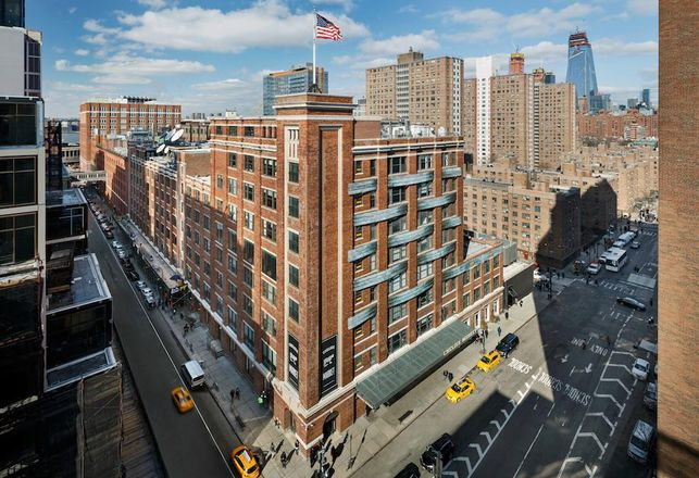 Google bought the Chelsea Market in Manhattan for a near-record $2.4B.