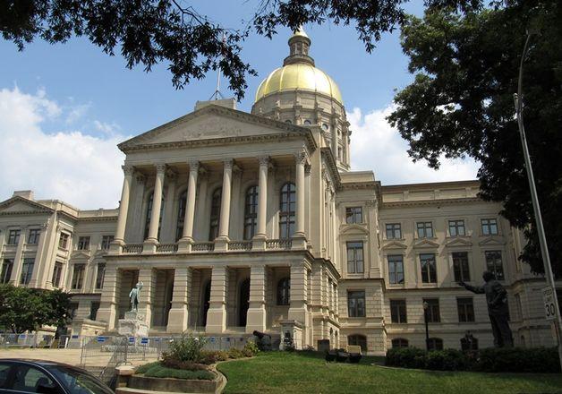Gold Dome Downtown Atlanta